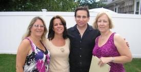 Gail, Marianne, Joe & Laura