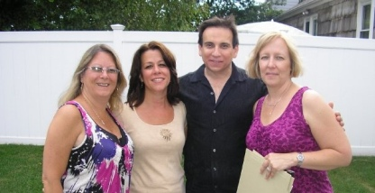 Gail, Marianne, Joe & Laura