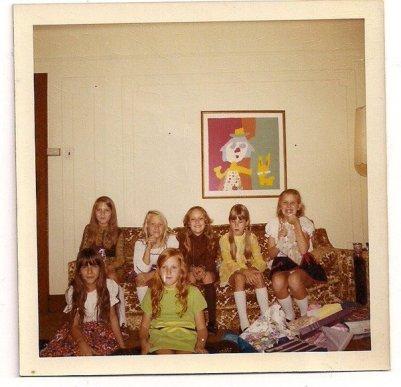 Circa 1971 - The girls
