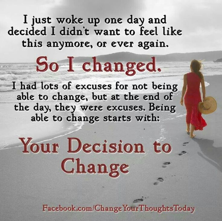 Change is Good for theSoul
